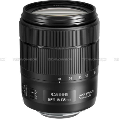 Объектив Canon EF-S 18-135 f/3-5-5.6 IS USM NANO