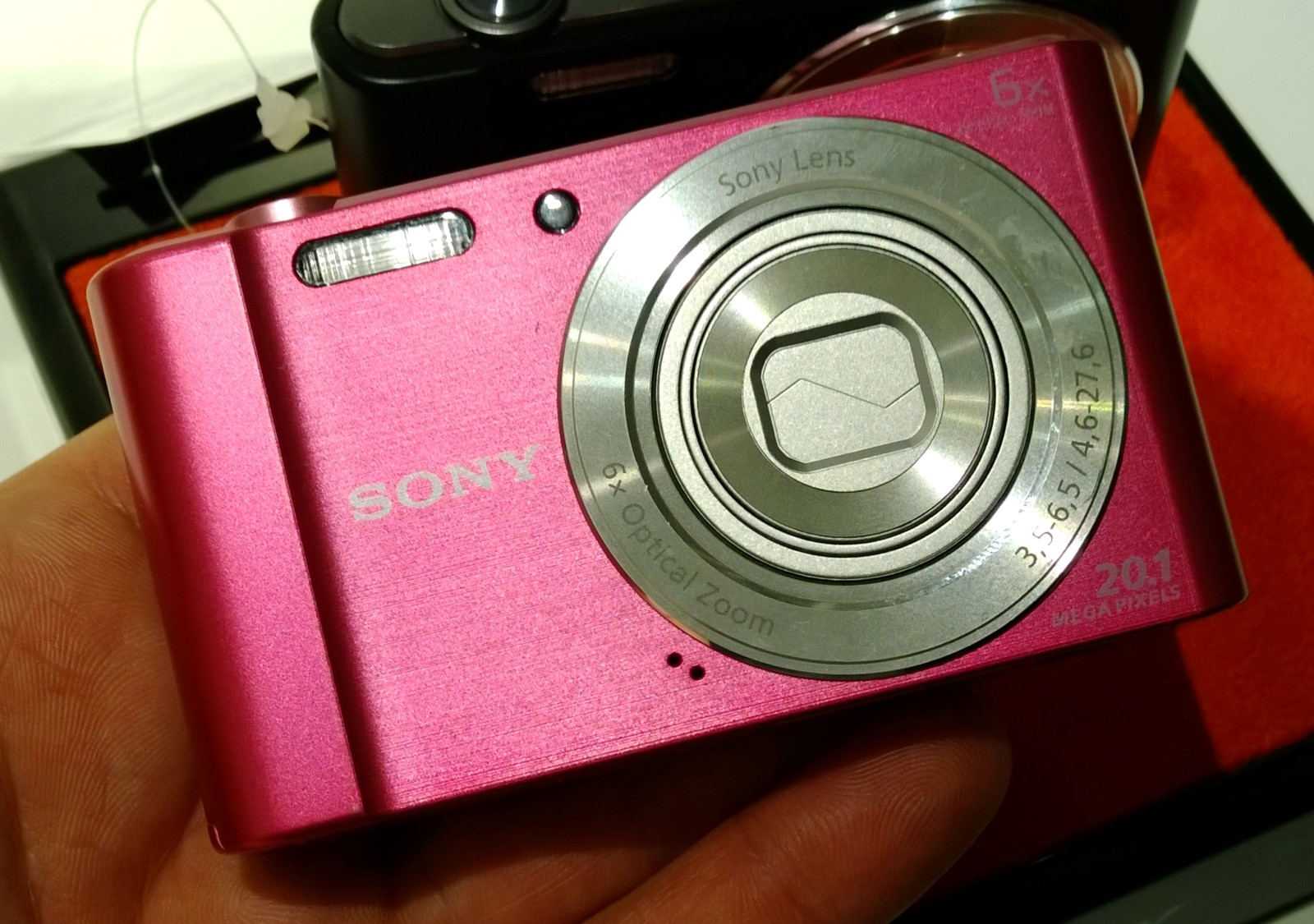 Sony Cyber Shot Dsc W810 6 150 Iso