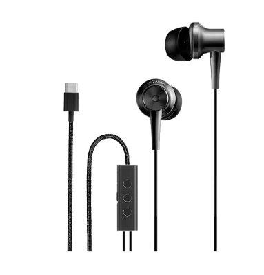 Наушники вставные Xiaomi Mi ANC Type-C In-Ear Earphones Black