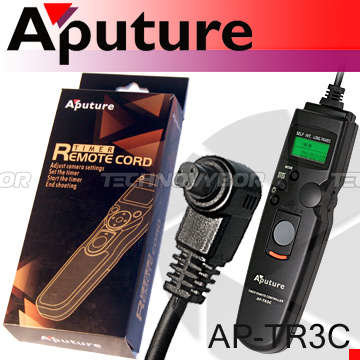 Aputure Digital Timer Remote (C) AP-TR3C for Canon